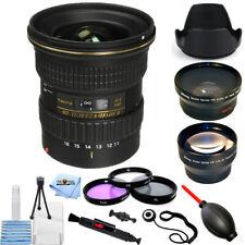 Tokina AT-X 116 PRO DX-II 11-16mm f/2.8 Lens for Canon EF 3 Lenses Bundle