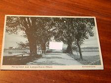 1933 CPA CARTE POSTALE AK postkarte HEILGrüsse aus Lampertheim rhein WW2 reich
