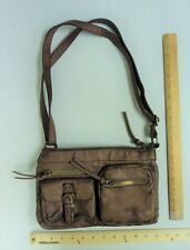 Women's BUENO Collection Antique Brown Hand Bag Purse CROSS BODY Style Tote