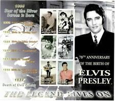 MODERN GEMS - Maldives - Elvis Presley - Sheet Of 6 - MNH