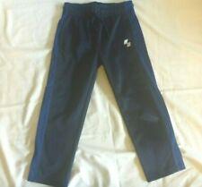 Boys Place Sport Athletic Drawstring Pants Black Blue S 5/6