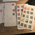 Old Stamps From Britain Fra Italy Czechoslovakia Austria Norw Aust Netherl China