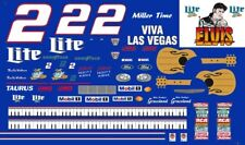 #2 Rusty Wallace Elvis Tribute 1998 Ford 1/64th HO Scale Slot Car Decals