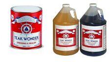 teak wonder kit 4 lt cleaner + 4 lt dressing + 4 lt brightener