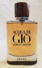 Acqua Di Gio Giorgio Armani Absolu  EDP 75 Ml 2.5 Oz New Unboxed