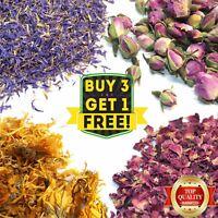 Dried Flowers & Petals 41+ Types! Wedding Confetti, Bath Soap Craft Candle Decor