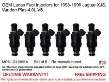 6 fuel Injectors for 1993-1996 Jaguar XJS Vanden Plas 4.0L V6 OEM Lucas #D3156KA