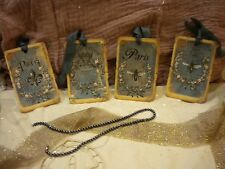 Shabby Hanging / Gift Tags: Paris (4)