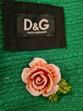 🌹100% Auth New Dolce & Gabbana  5 Floral Replacement Buttons 3-D PINK  💄💄💄💄