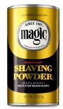 Magic Fragrant Shaving Powder GOLD ~  Stops Razor Bumps Shave 4.5 oz