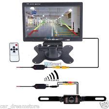 """7"""" TFT LCD Monitor +Car Wireless Rear View Backup Camera Kit 7 IR Night Vision"""