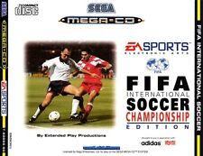 # FIFA SOCCER INTERNATIONAL-Sega Mega-CD/MCD gioco-TOP #