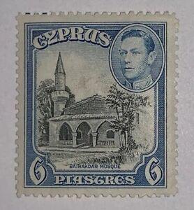 Travelstamps: 1938-1951 Cyprus Postage Stamp Sc# 158 MOGH Bairakdar Mosque MOGH