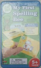 Leap Frog Flash Cards My First Spelling Bee Preschool Word Pictures  *SEALED*