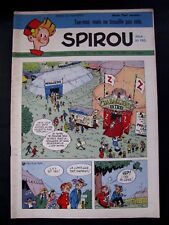 Hebdo Spirou N° 748  14 AOUT 1952 TBE