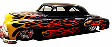Flame Paint Masks for AMT 1951 Chevy Bel Air Fleetline or Convertible