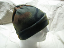 military style made in USA woodland fleece watch cap winter cold weather BDU