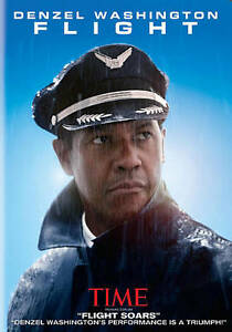 Flight (DVD, 2013) with Denzel Washington - Region 1 - Brand New