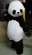 Adult Chinese Panda Bear Mascot Costume Professional Fancy Dress Suit Dress gift