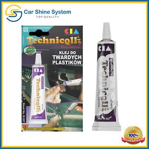 Hard Plastic Strong Adhesive Glue PVC Pipes ABS TR EVA Perspex Acrylic Repair