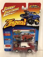 1966 Pontiac GTO Hot Rod Gloss Red 1:64 Johnny Lightning JLSF010A
