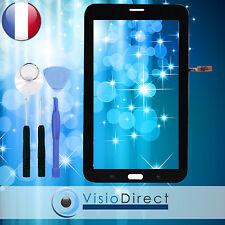 """Vitre ecran tactile pour Samsung Galaxy Tab 3 Lite 7.0"""" T111 noir + outils"""