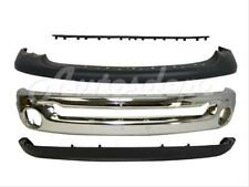 Bundle For 03 05 Dodge Ram 1500 25 3500 Front Bumper Chrome Up Lower Step Pad 4p Fits 2005 Dodge Ram 1500