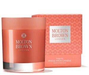 MOLTON BROWN Gingerlily Single Wick Scented Candles 180g Brand New