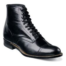 Stacy Adams Bota Masculino Madison Biscoito Preto 00015-01