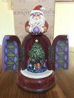 Heartwood Creek Santa with Hidden Scene Figurine, Believe, in Box, 4016075
