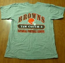CLEVELAND BROWNS tee Tim Couch football youth lrg size 14-16 kids T shirt QB