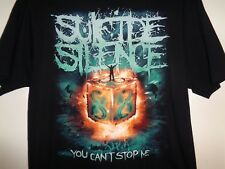 SUICIDE SILENCE  T Shirt  X-LARGE