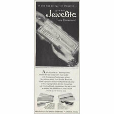 1959 Pro-Phy-Lac-Tic Brush Company: Jewelite Vintage Print Ad