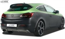 Rear Bumper extension, Lip spoiler,Extension,VAUXHALL Astra J GTC Diffusor
