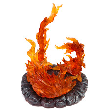 One Piece Portgas D Ace Monkey D. Luffy Flame Figure Base Resin Model Collection