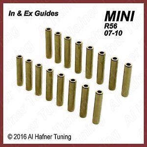 Mini Cooper R56 N12, N14  In & Ex valve guide set (16)