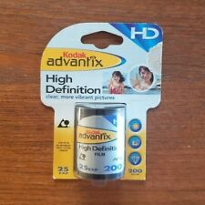 Kodak Advantix High Definition Film, 25 Exp, 200 Film, Hd Aps