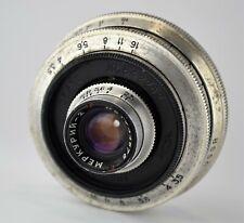 1961 VERY RARE MACRO USSR MERCURIY-2 f2.5/20 LENS MODIFIED to M39 mount + FOCUS