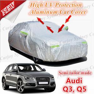 Premium Semi Tailor Made Waterproof Aluminum Car Cover Medium SUV Audi Q5 Q3