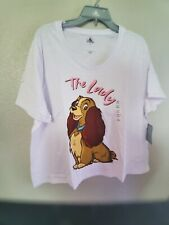 Lady And The Tramp Mens Long Sleeve T-Shirt Tee Size S M L XL 2XL 3XL