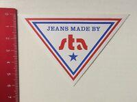 Aufkleber/Sticker: Jeans Made By - Sta (230316154)