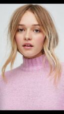 SOLD OUT MONKI @ ASOS & TOPSHOP HIGH NECK LONG JUMPER TOP SMALL
