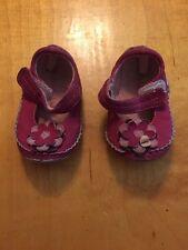 Baby Girl Boy Koala Boutique Size 3  Tan Velcro Slip-on dress shoes B6