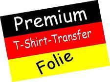 Premium T-Shirt Transferfolie Photoqualität  für Laserdrucker Fachhandel NEU