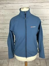 Women's Berghaus Softshell Jacket - UK12 - Blue - Great Condition