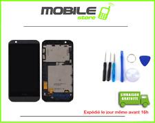ECRAN LCD + VITRE TACTILE + CHASSIS FRAME pour HTC DESIRE 510 NOIR