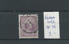 """KLEINrond """"HERTOGENBOSCH 19-apr-1898"""" op 42  VFU/gebr  CV 9 €"""