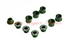 NEW KCNC CRANK CHAINRING BOLTS SCREWS FOR SHIMANO AL7075, GREEN