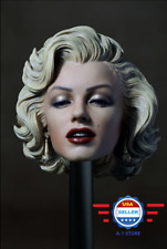 "1/6 scale Marilyn Monroe Head Sculpt 2.0 Painted For 12"" Phicen female figure"