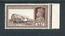 Kuwait KGVI 1939 4a brown SG43 MNH